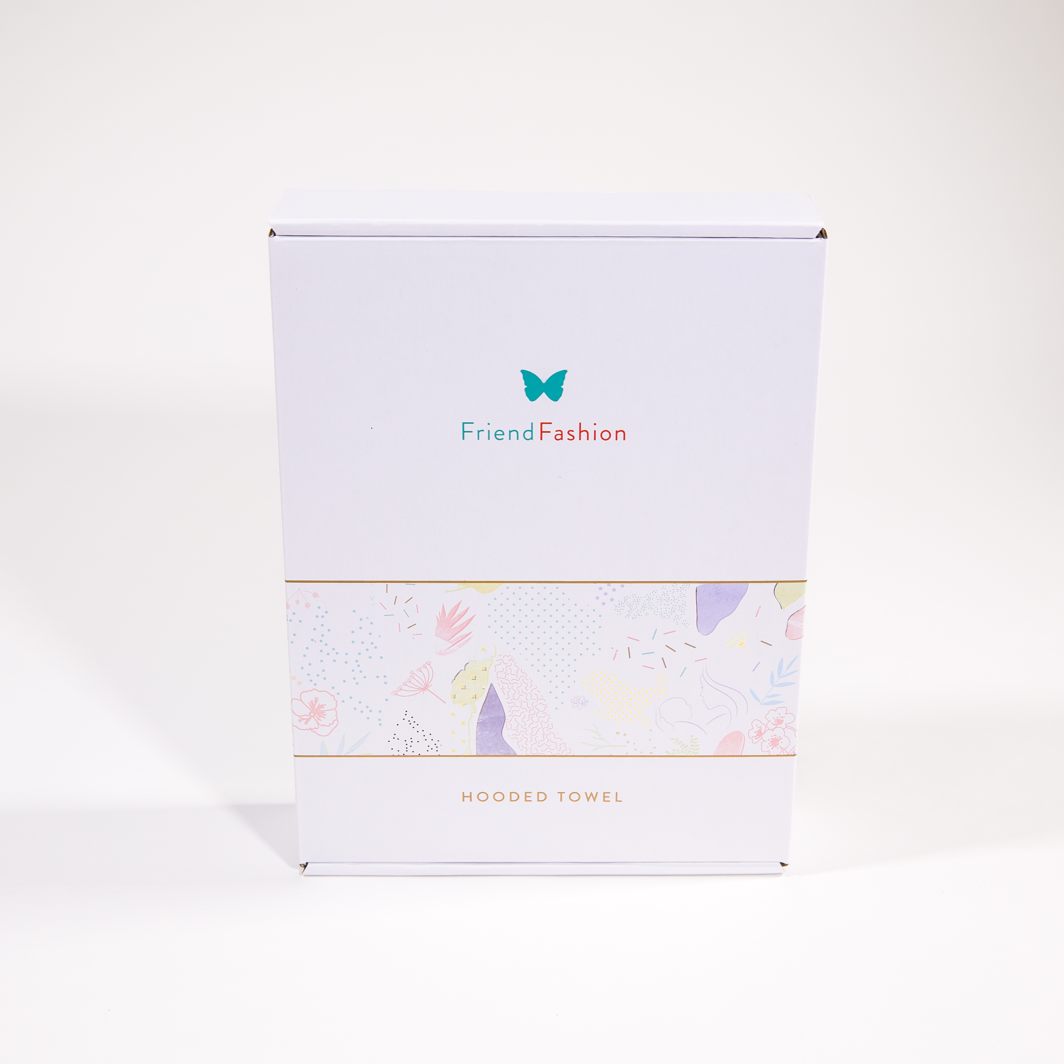 Perfect gift: Baby hooded towel in a beautiful box