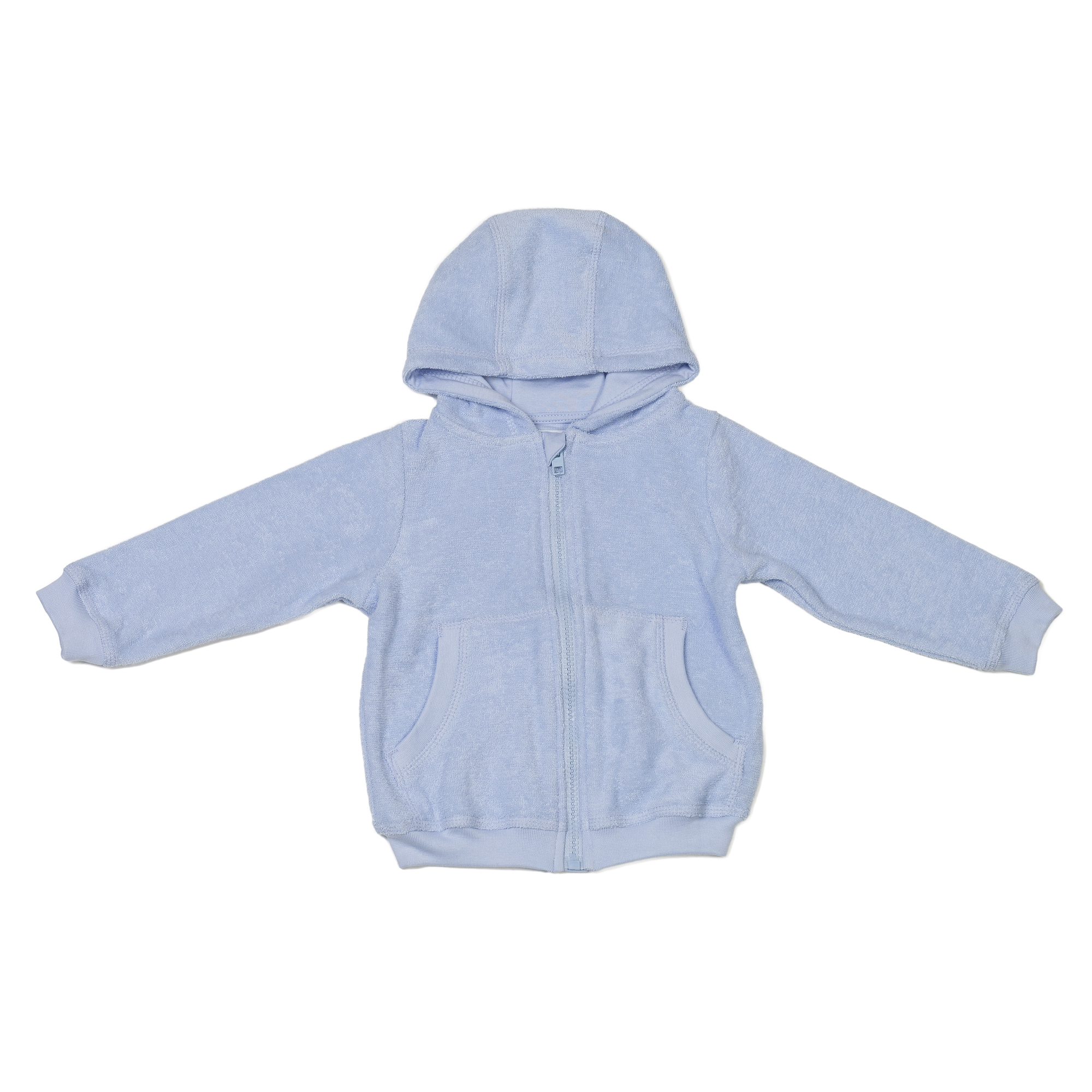 Baby Hooded Jacket Blue