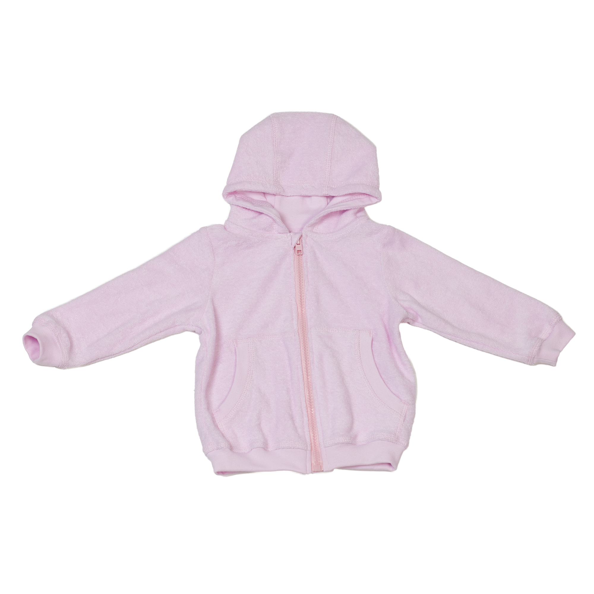 Baby Hooded Jacket Pink