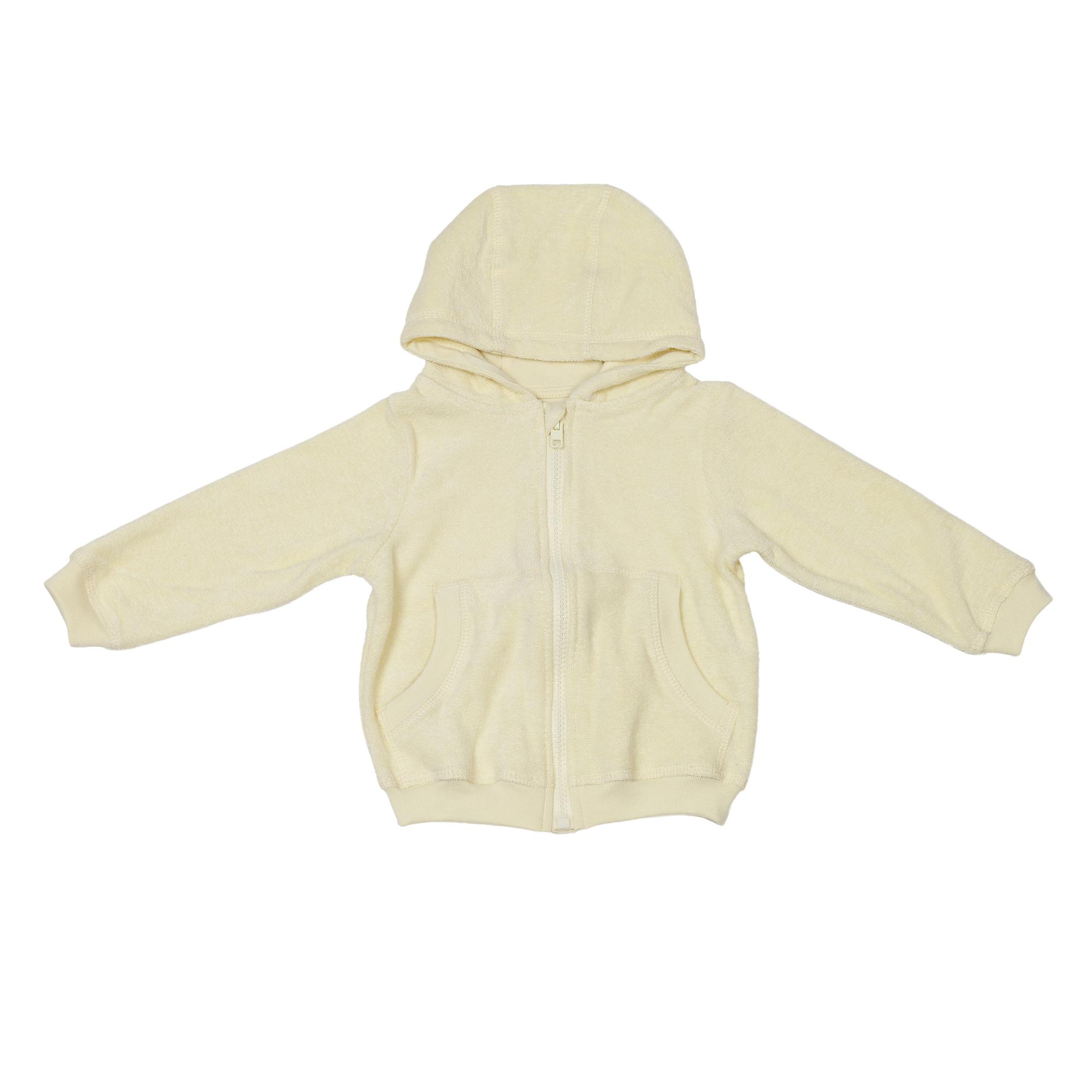 Baby Hooded Jacket Yellow