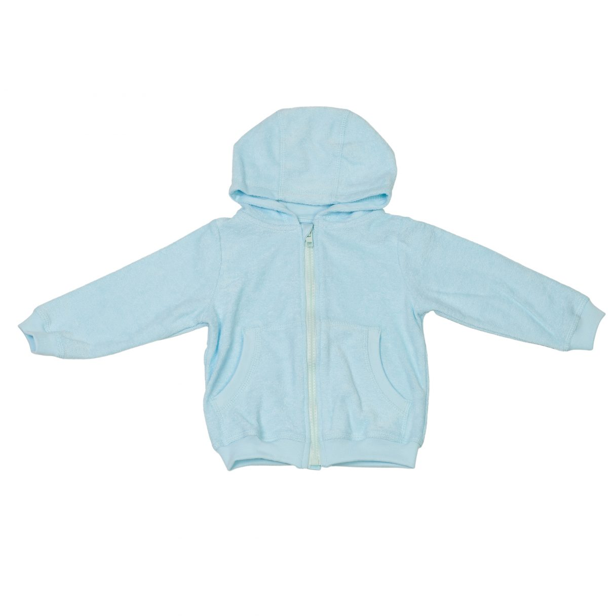 Baby Hooded Jacket Turquoise