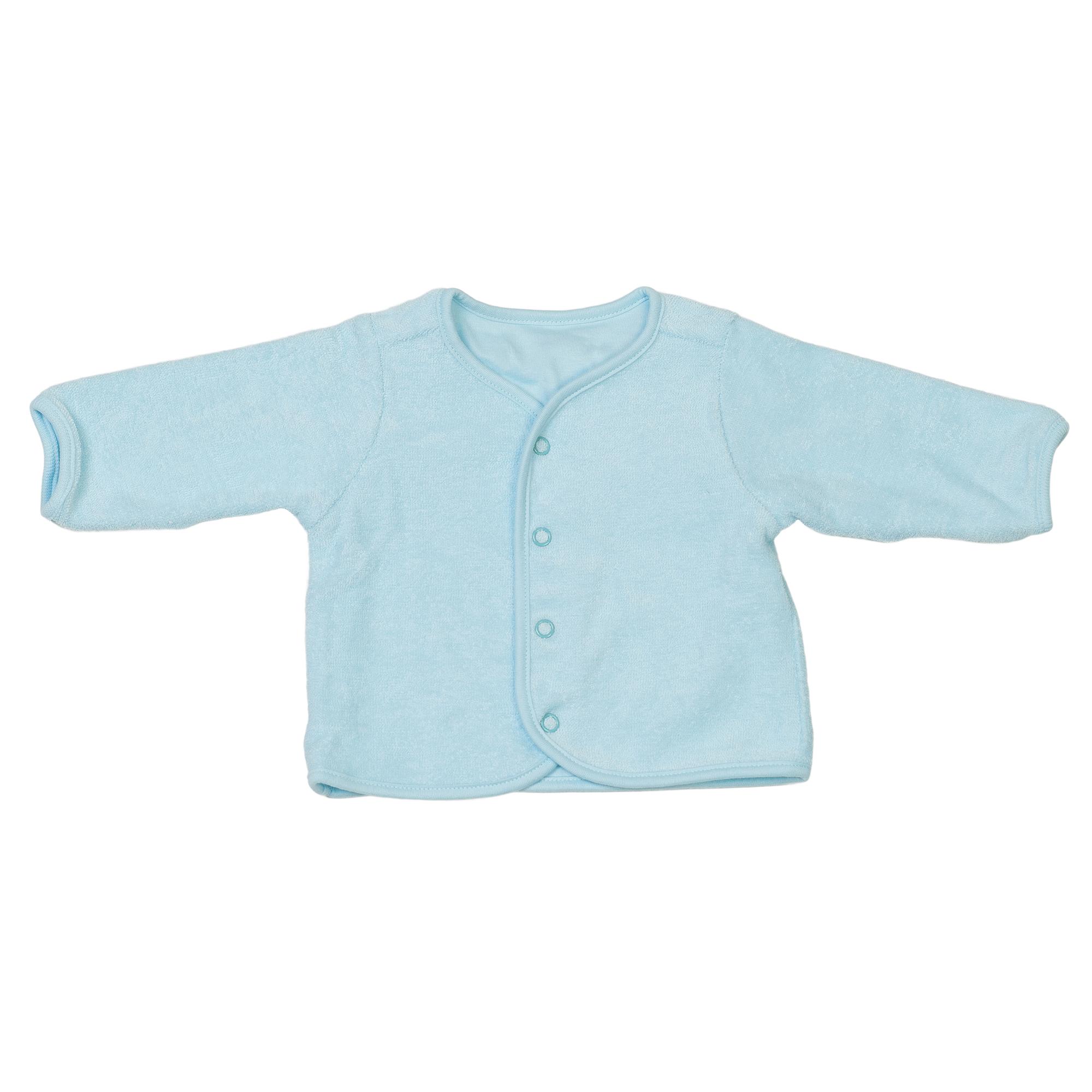 Baby Organic Cotton Jacket Turquoise