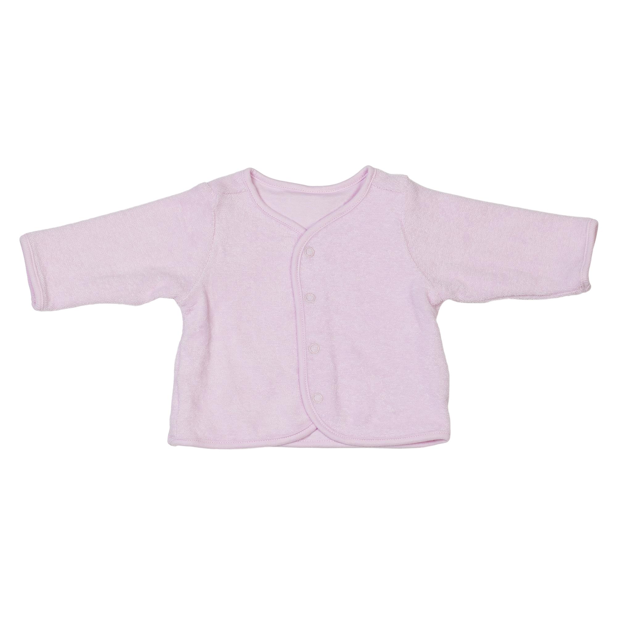 Baby Organic Cotton Jacket Pink