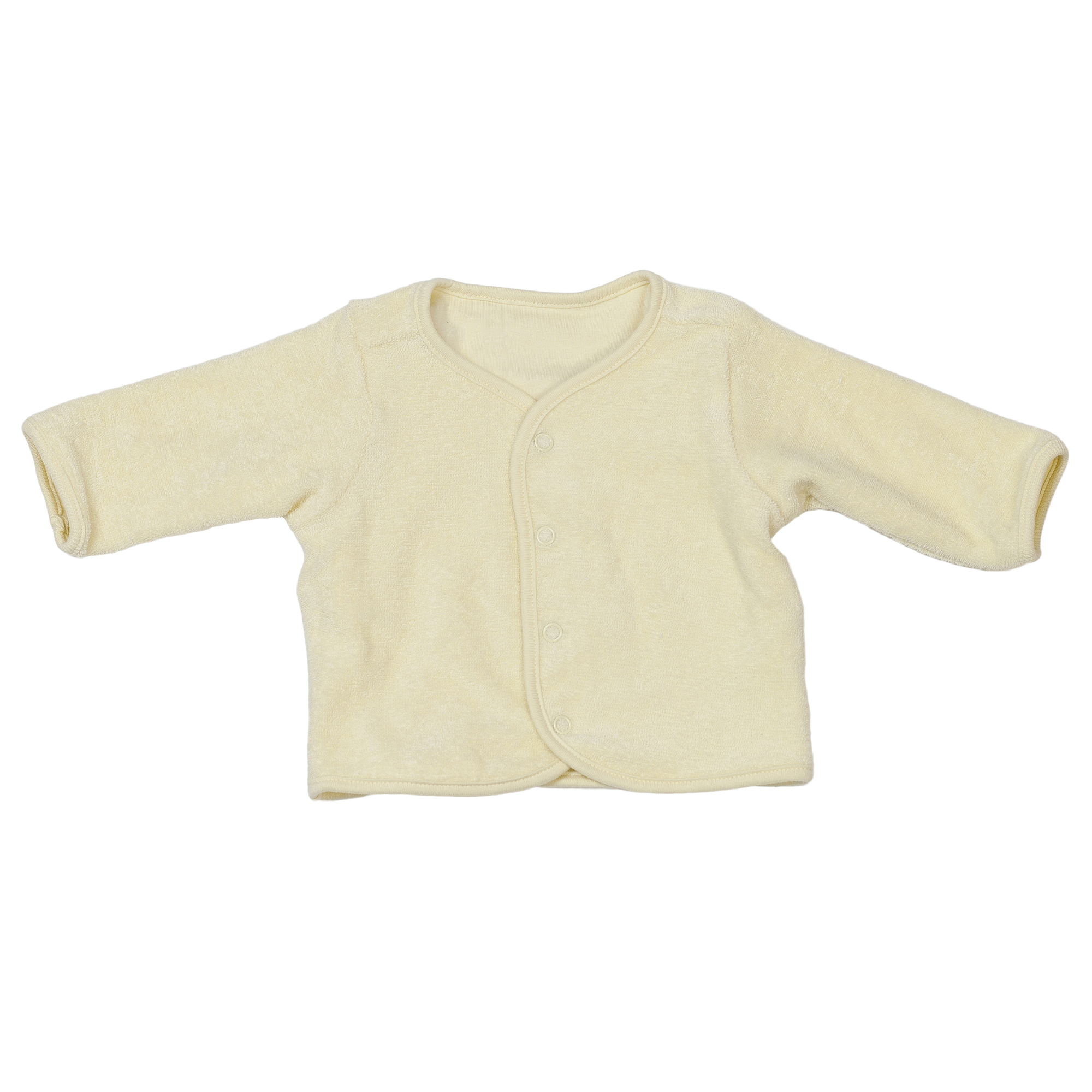 Baby Organic Cotton Jacket Yellow