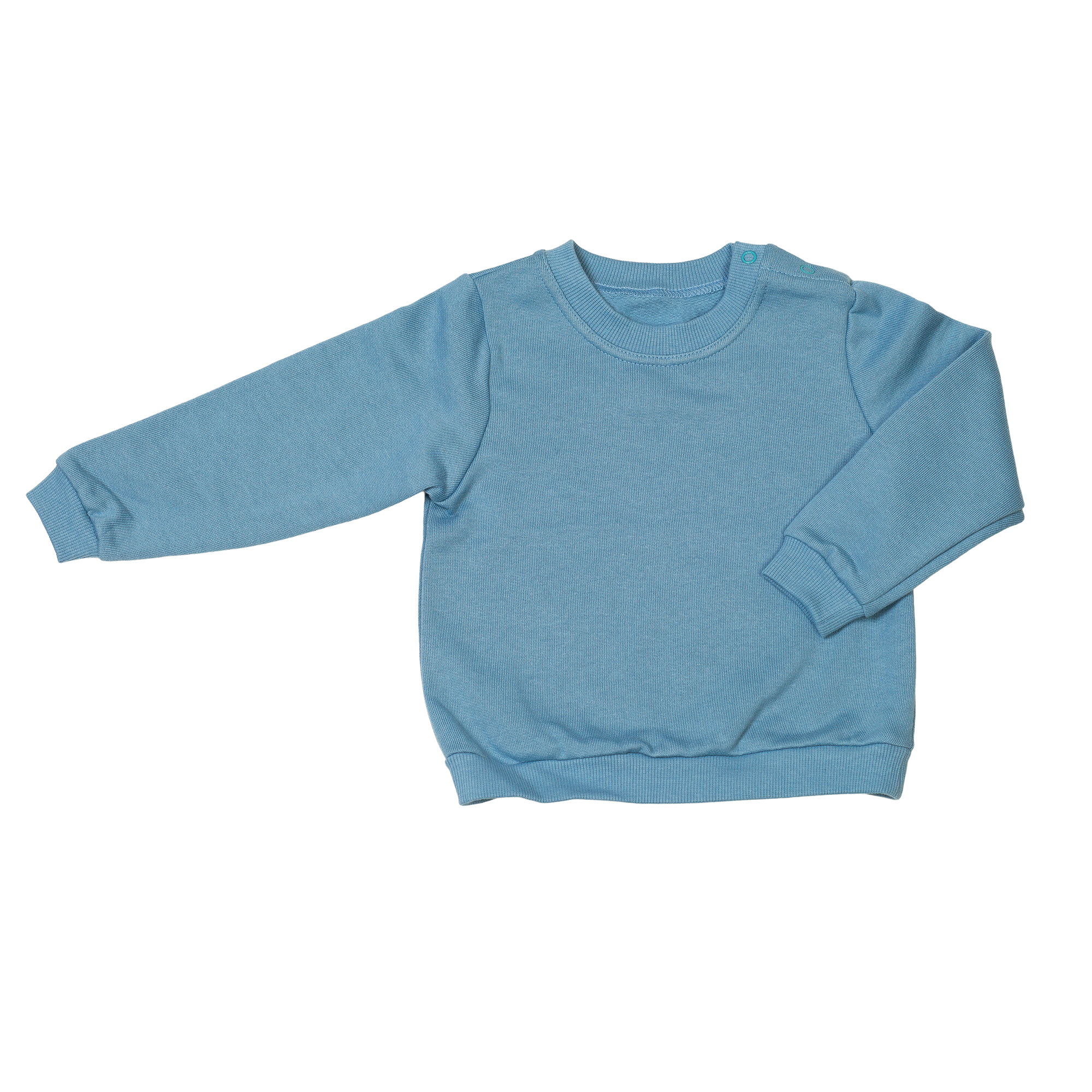 Baby Pullover Organic Cotton Blue 1