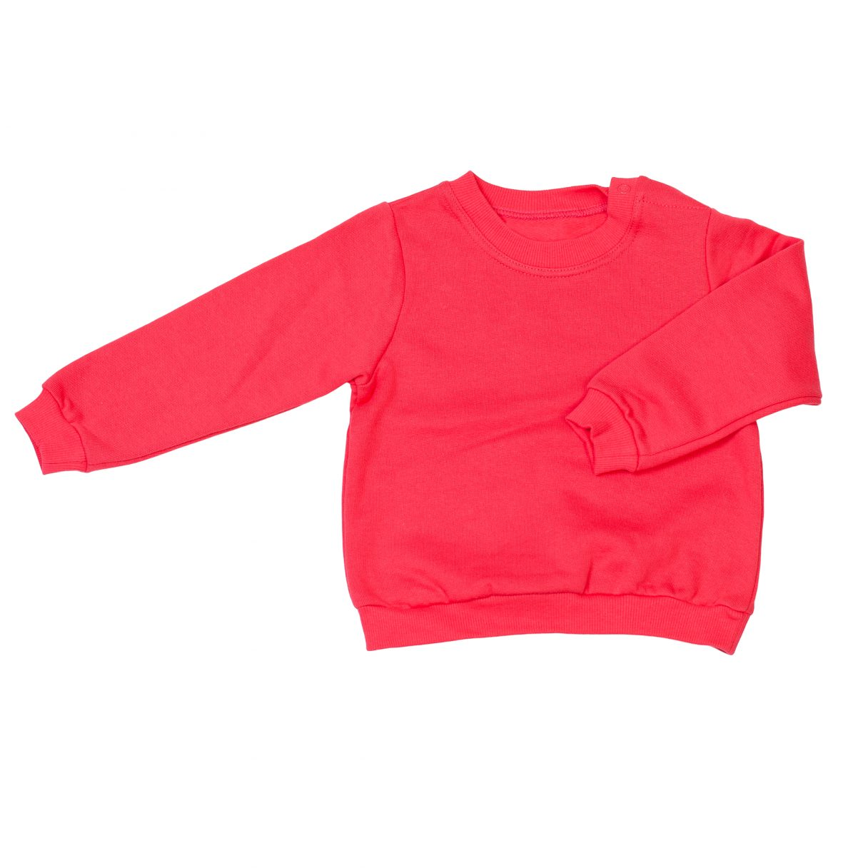 Baby Pullover Organic Cotton Red 2