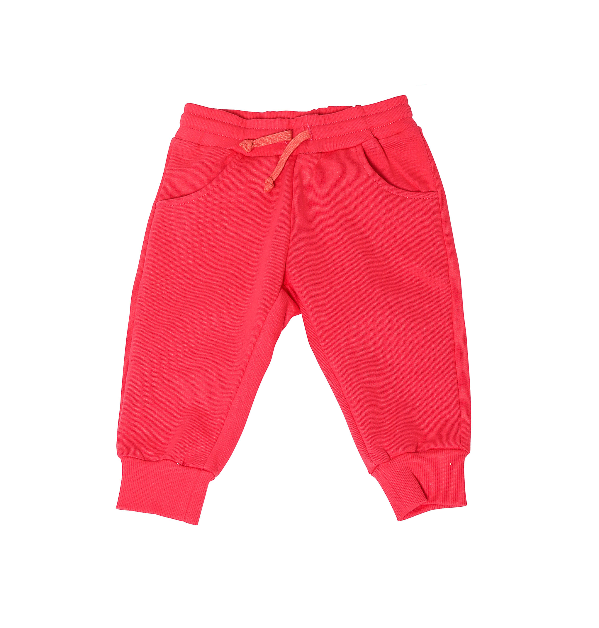 Mikijs Pants Organic Cotton Red 2