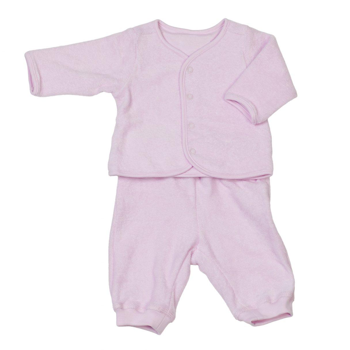 Baby Organic Cotton Sweatsuit Pink