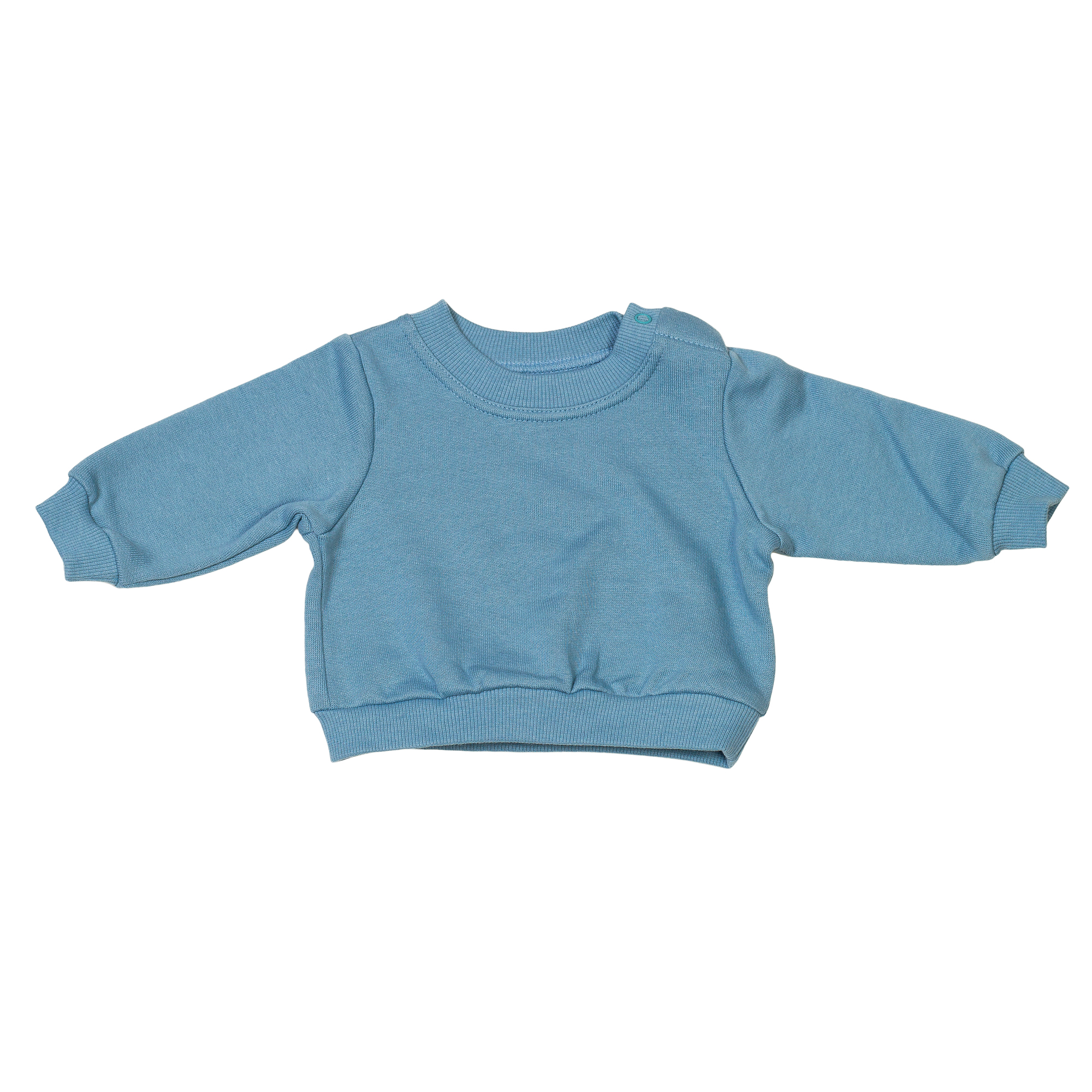 Baby Pullover Organic Cotton Blue 2