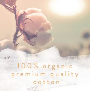 FriendFashion uses only 100% Organic Premium Quality Cotton