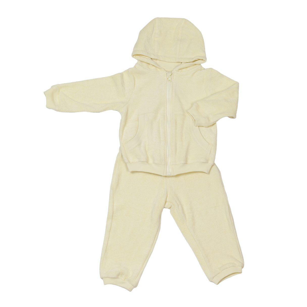 Baby Sweatsuit Yellow